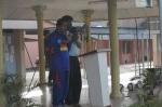 Uz M Ali membaca doa pembukaan dan kesyukuran karnival