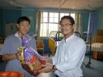 Sumbangan ke pesakit berbangsa Cina