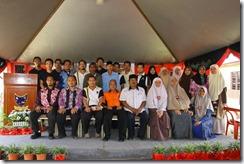 Gambar AJK dan ketua-ketua penduduk Felda Bukit Kuantan